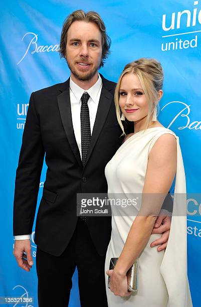 Actors Dax Shepard and Kristen Bell attend the 2011 UNICEF Ball presented by Baccarat held at the Beverly Wilshire Hotel on December 8 2011 in Los...
