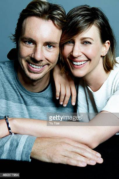 ACtors Dax Shepard and VEra Farmiga are photographed at the Toronto Film Festival for Variety on September 6 2014 in Toronto Ontario