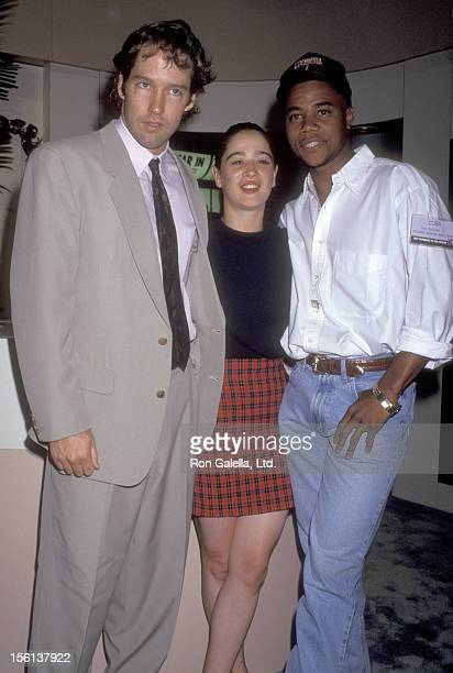 Actors DB Sweeney Moira Kelly and Cuba Gooding Jr attend the 1992 Video Software Dealers Association Convention on July 26 1992 at Las Vegas...