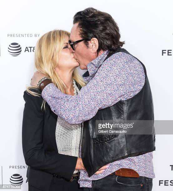 Actors DeAnna Madsen and Michael Madsen attend the 'Reservoir Dogs' 25th Anniversary Screening during 2017 Tribeca Film Festival at The Beacon...