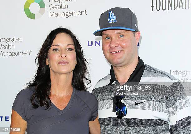 Actors Debbe Dunning and Zachery Ty Bryan attend the SAG Foundation's 6th annual Los Angeles Golf Classic on June 8 2015 in Burbank California