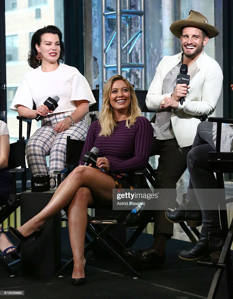 The Build Series Presents The Cast Of 'Younger' : News Photo