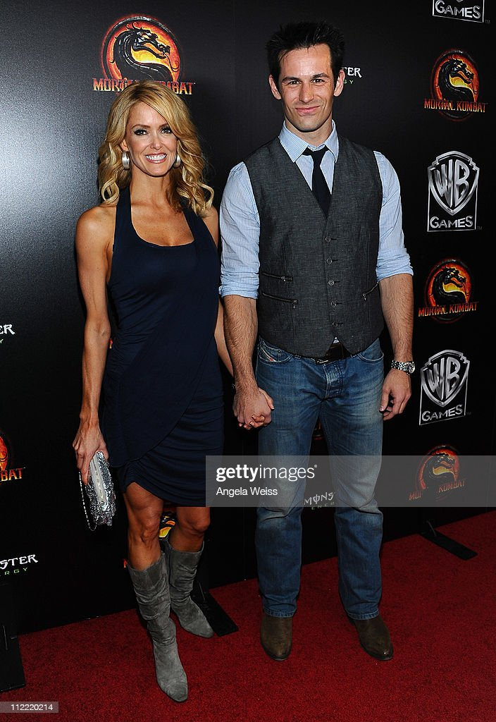 Actors Deena Dill And Matt Mullins Arrive At The Launch Of Warner News Photo Getty Images