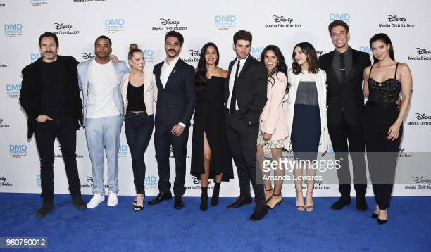 Actors Demian Bichir Chris Warren Anne Winters Shalim Ortiz Feliz Ramirez Bryan Craig Justina Adorno Denyse Tontz Lincoln Younes and Roselyn Sanchez...