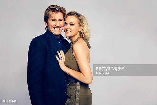 Actors Denis Leary and Elaine Hendrix from FX's 'Sex&Drugs&Rock&Roll' pose for a portrait at the FOX Summer TCA Press Tour at Soho House on August 9,...