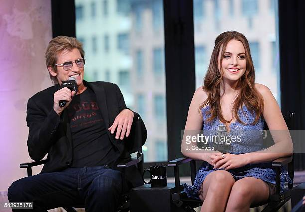 Actors Denis Leary and Elizabeth Gillies speak at the AOL Build Presents Denis Leary And Elizabeth Gillies Discuss Their FX Show 'SexDrugsRockRoll'...