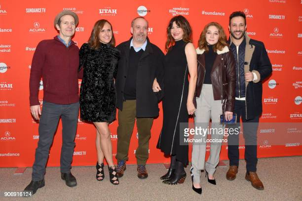 Actors Denis O'Hare Molly Shannon Paul Giamatti Kathryn Hahn Kayli Carter and Desmin Borges attend the 'Private Life' Premiere during the 2018...