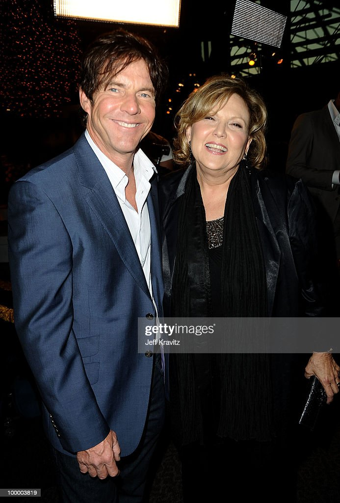 Actors Dennis Quaid and Brenda Vaccaro arrive to the HBO premiere of 'The Special Relationship' held at Directors Guild Of America on May 19, 2010 in Los Angeles, California.