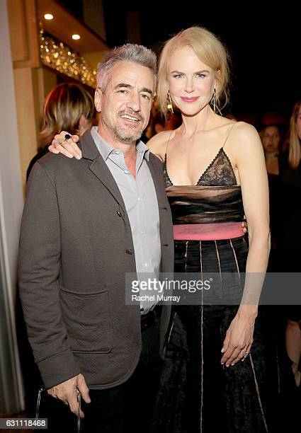 Actors Dermot Mulroney and Nicole Kidman attend a special screening and reception of LION hosted by David O'Russell and Lee Daniels celebrating...