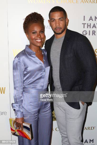 Actors DeWanda Wise and Alano Miller attend the Women's Choice Award Show at Avalon Hollywood on May 17 2017 in Los Angeles California