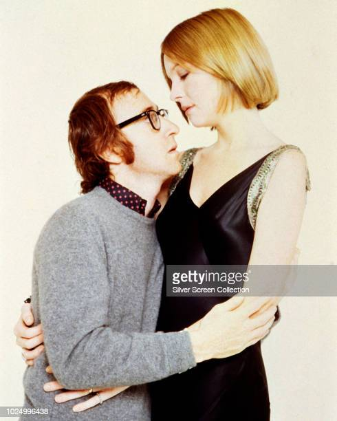 Actors Diane Keaton as Linda and Woody Allen as Allan in a publicity still for the film 'Play It Again Sam' 1972