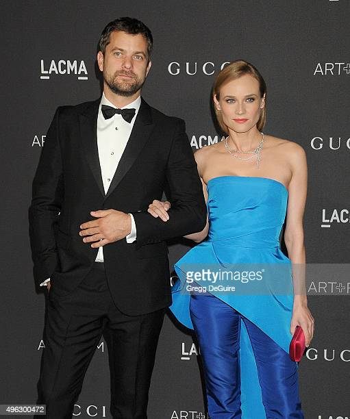 Actors Diane Kruger and Joshua Jackson arrive at the LACMA 2015 ArtFilm Gala Honoring James Turrell And Alejandro G Inarritu Presented By Gucci at...