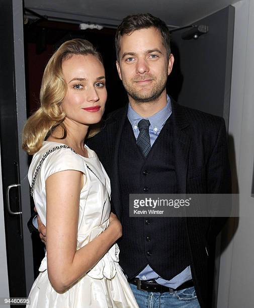 Actors Diane Kruger and Joshua Jackson arrive at Universal Studios Home Entertainment's DVD launch of 'Inglourious Basterds' at the New Beverly...