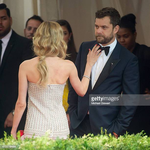 Actors Diane Kruger and Joshua Jackson attend the 'China Through The Looking Glass' Costume Institute Benefit Gala at Metropolitan Museum of Art on...