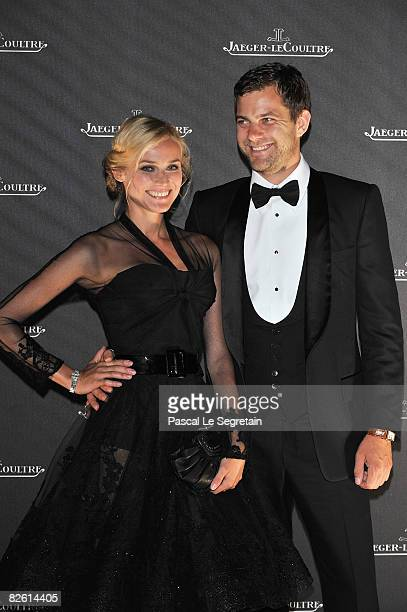 Actors Diane Kruger and Joshua Jackson attend the Jaeger LeCoultre Gala Dinner Fondazione Cini at Hotel Des Baines during the 65th Venice Film...
