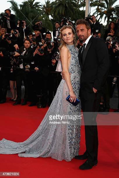 Actors Diane Kruger and Matthias Schoenaerts attend the Premiere of The Sea Of Trees during the 68th annual Cannes Film Festival on May 16 2015 in...