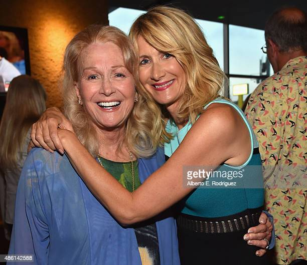 Actors Diane Ladd and Laura Dern attend a special screening of 99 Homes on August 31 2015 in Los Angeles California