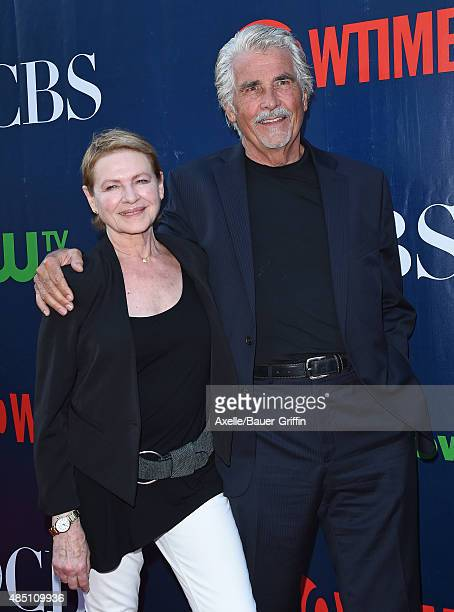 Actors Dianne Wiest and James Brolin arrives at CBS, CW And Showtime 2015 Summer TCA Party at Pacific Design Center on August 10, 2015 in West...