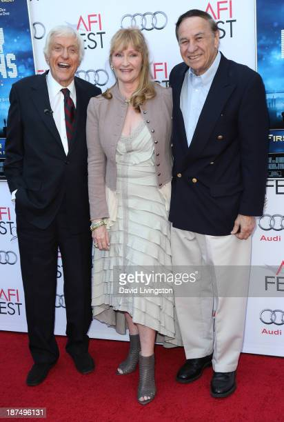 Actors Dick Van Dyke and Karen Dotrice and songwriter Richard M Sherman attend the AFI FEST 2013 presented by Audi 50th Anniversary Commemoration...