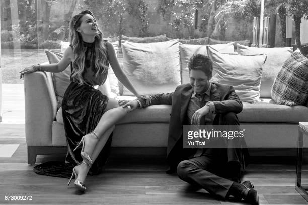 Actors Diego Boneta and Belinda Boneta are photographed for Vanity Fair Mexico on August 3 2016 in Mexico City Mexico Published Image