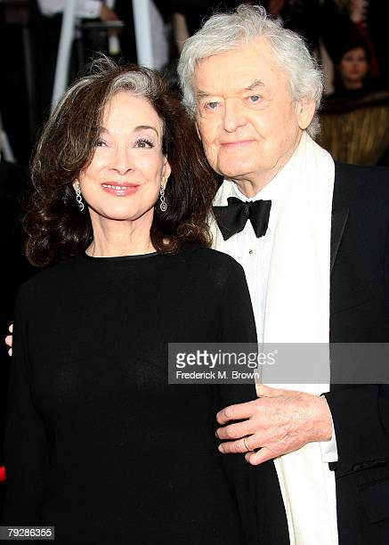 Actors Dixie Carter and Hal Holbrook arrive at the 14th annual Screen Actors Guild awards held at the Shrine Auditorium on January 27 2008 in Los...