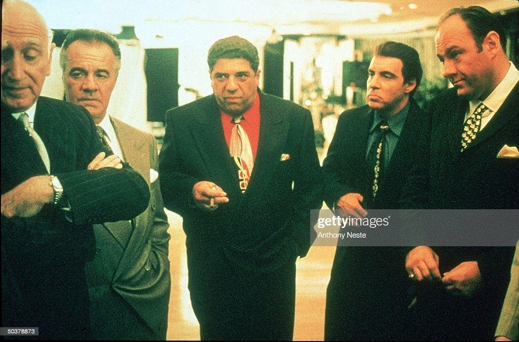 Dominic Chianese;Vincent Pastore;James Gandolfini;Tony Sirico;Steve Van Zandt : News Photo