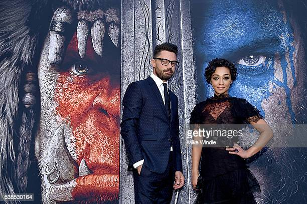 Actors Dominic Cooper and Ruth Negga attend the premiere of Universal Pictures' 'Warcraft' at TCL Chinese Theatre IMAX on June 6 2016 in Hollywood...