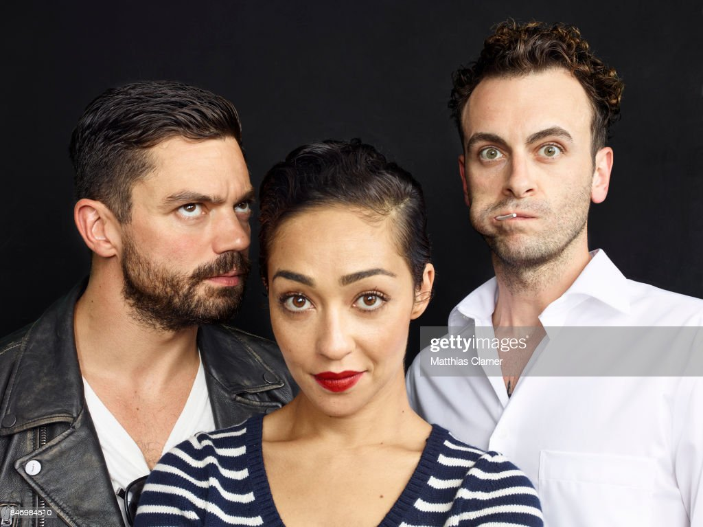 Actors Dominic Cooper, Ruth Negga and Joseph Gilgun from 'Preacher' is photographed for Entertainment Weekly Magazine on July 22, 2016 at Comic Con in the Hard Rock Hotel in San Diego, California.