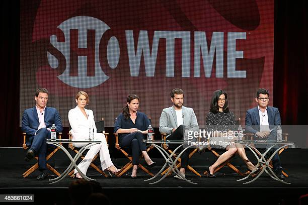Actors Dominic West Ruth Wilson Maura Tierney Joshua Jackson creator/executive producer Sarah Treem and executive producer/director Jeffrey Reiner...
