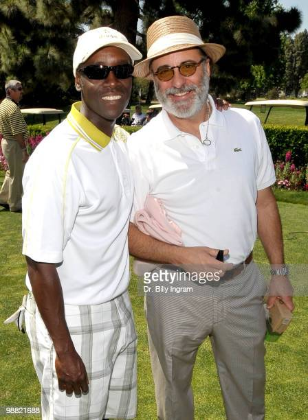 Actors Don Cheadle and Andy Garcia attend the Third Annual George Lopez Celebrity Golf Classic at the Lakeside Golf Club on May 3 2010 in Toluca Lake...