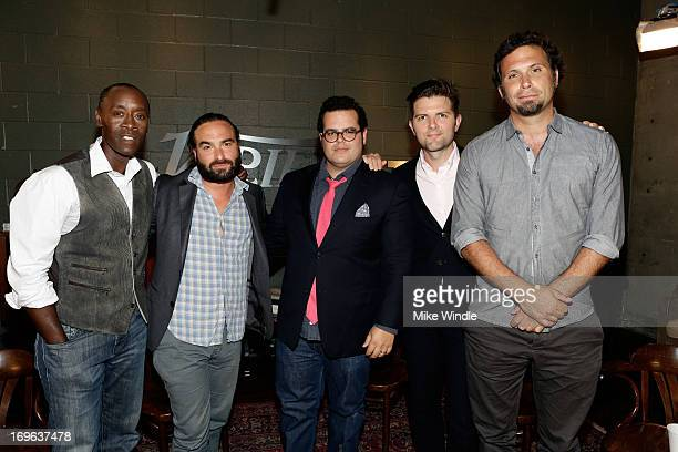 Actors Don Cheadle, Johnny Galecki, Josh Gad, Adam Scott, and Jeremy Sisto attend the Variety Emmy Studio at Palihouse on May 29, 2013 in West...
