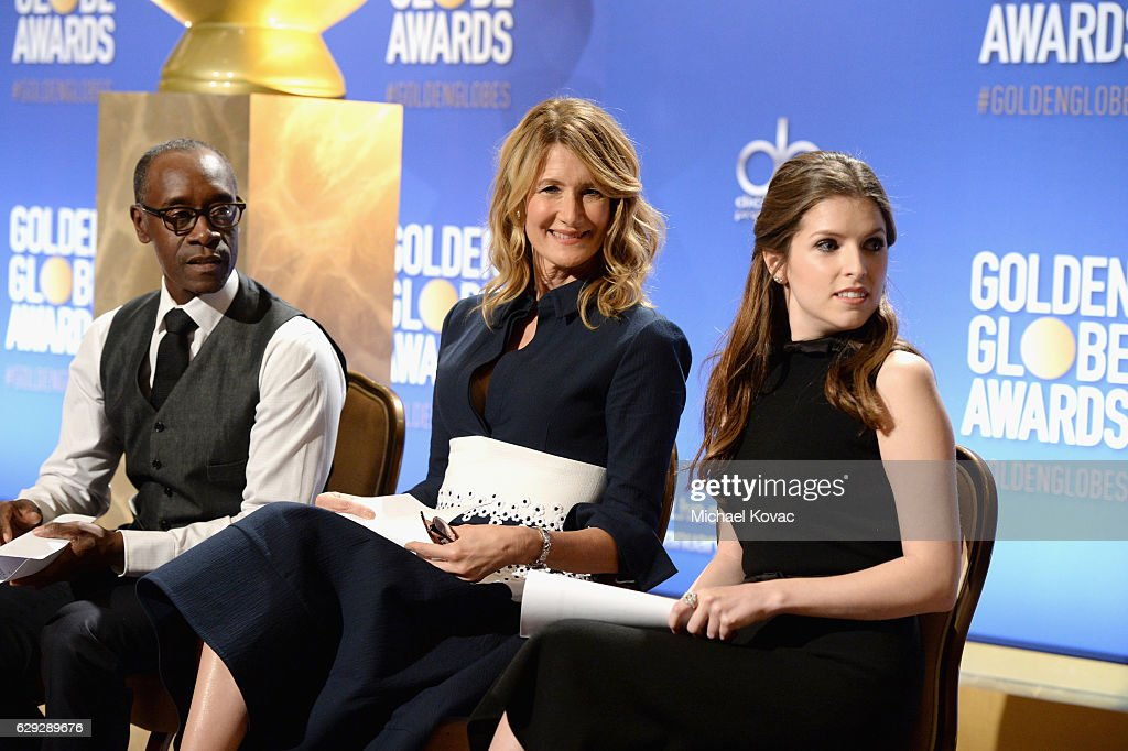 Moet & Chandon Toasts The 74th Annual Golden Globe Awards Nominations : Nachrichtenfoto