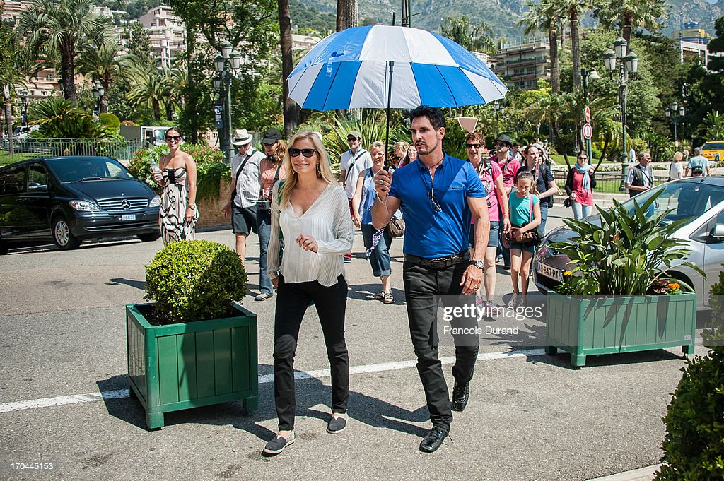 "Behind The Scenes as ""Bold And The Beautiful"" Shoots In Monte Carlo"