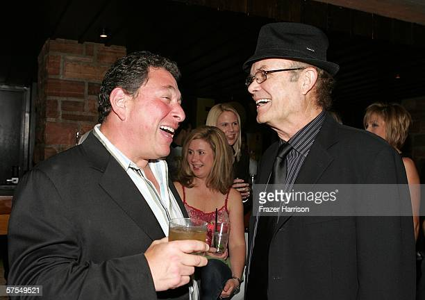 Actors Don Stark and Kurtwood Smith talk at the Fox Television 'That 70s Show' wrap party held at Tropicana at The Roosevelt Hotel on may 6 2006 in...