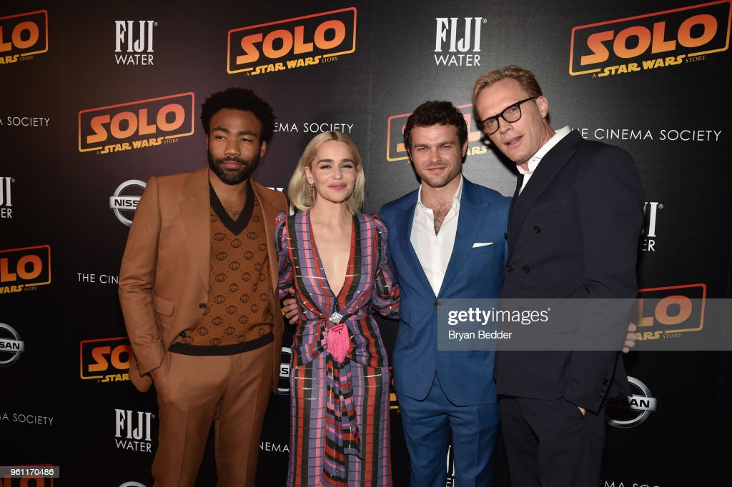 "FIJI Water With The Cinema Society Host A Screening Of ""Solo: A Star Wars Story"""