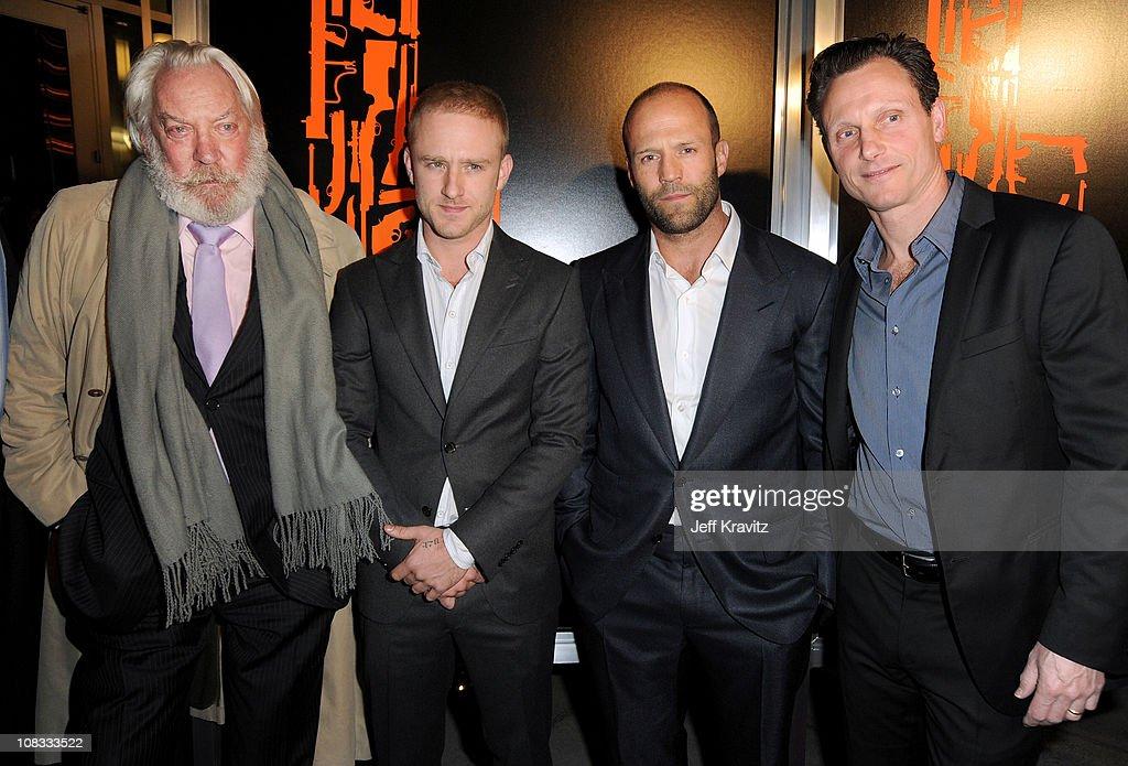 "CBS Films' ""The Mechanic"" - Los Angeles Premiere - Red Carpet : News Photo"