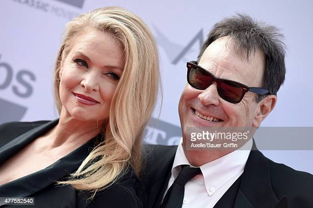 Actors Donna Dixon and Dan Aykroyd attend the 43rd AFI Life Achievement Award Gala at Dolby Theatre on June 4, 2015 in Hollywood, California.