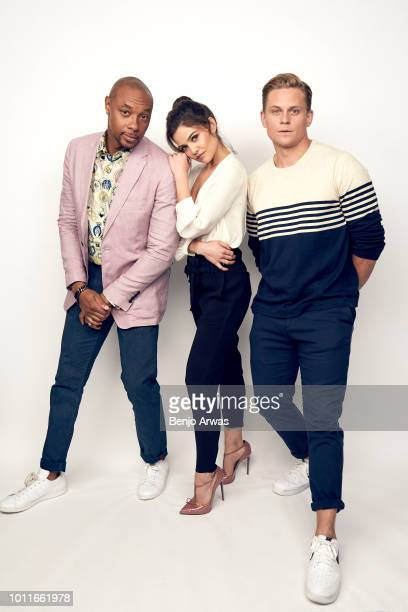 Actors Dorian Missick Danielle Campbell and Billy Magnussen of CBS's 'Tell Me A Story' pose for a portrait during the 2018 Summer Television Critics...