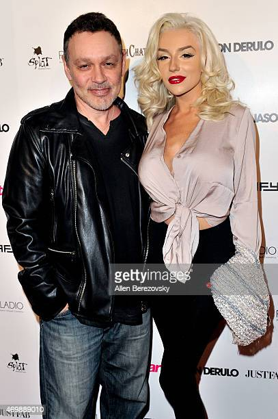 Actors Doug Hutchison and Courtney Stodden attend Star Magazine's Hollywood Rocks Event with Jason Derulo at The Argyle on April 15 2015 in Hollywood...
