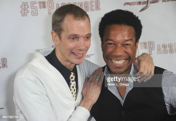 Actors Doug Jones and Rico E Anderson arrive for the Cast And Crew Screening Of 5th Passenger held at TCL Chinese 6 Theatres on December 13 2017 in...