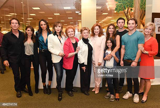 Actors Drake Hogestyn Kate Mansi Sal Stowers Lauren Koslow Maree Cheatham Peggy McCay Suzanne Rogers Lauren Boles Kristian Alfonso Billy Flynn James...
