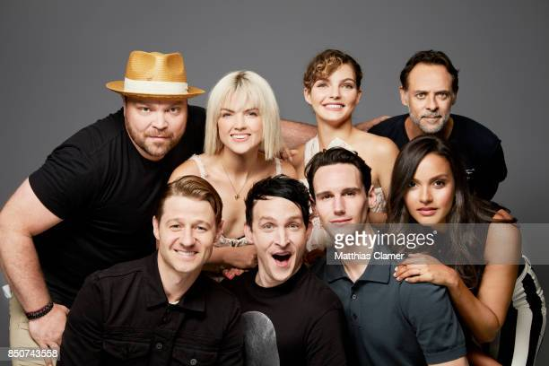Actors Drew Powell Erin Richards Camren Bicondova Alexander Siddig Jessica Lucas Cory Michael Smith Robin Lord Taylor and Ben McKenzie from Gotham...
