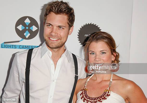 Actors Drew Seeley and Katie Seeley attend the 'Lights Camera Cure 2012 Hollywood DanceAThon' at Avalon on January 29 2012 in Hollywood California