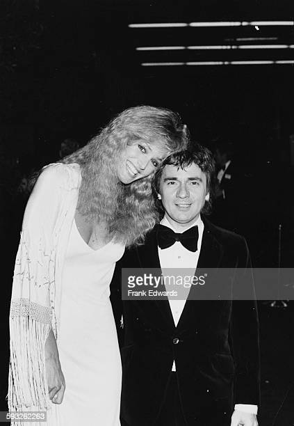 Actors Dudley Moore and Susan Anton at the Golden Globe Awards at the International Ballroom of the Beverly Hilton Hotel California January 1981