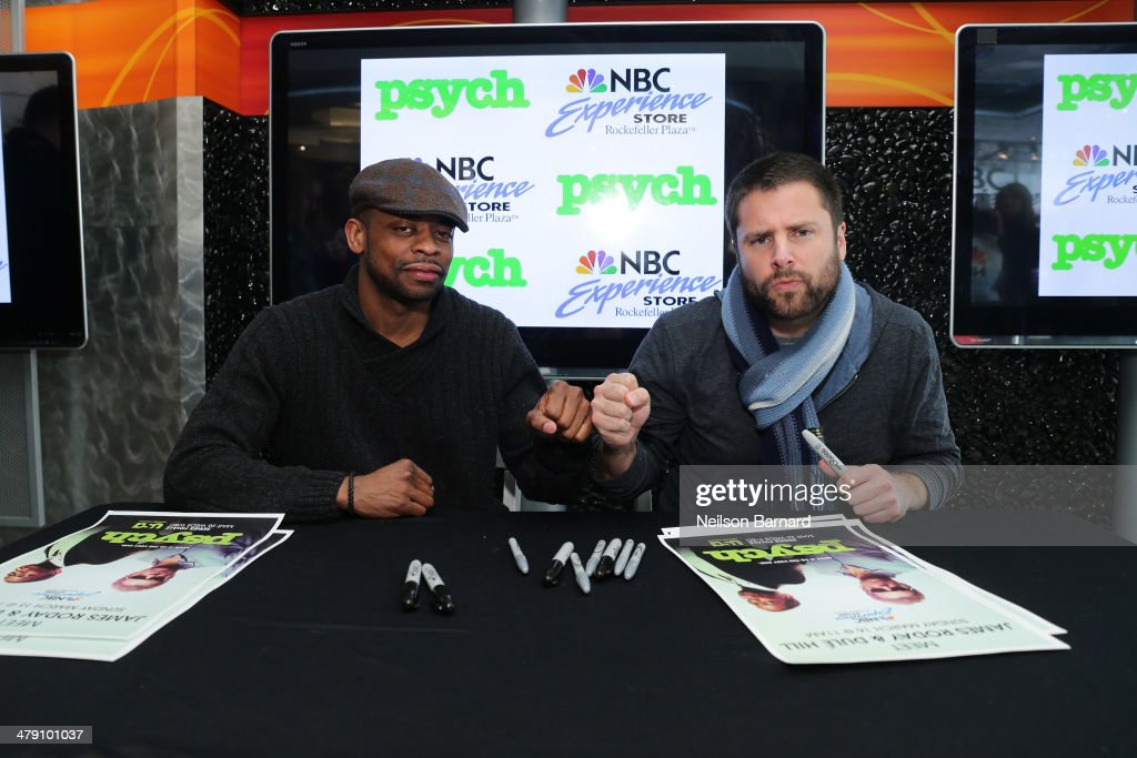 "USA's ""Psych"" Meet And Greet"