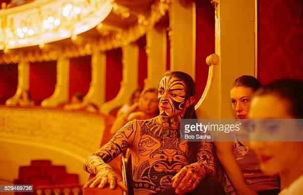 Actors During Rehearsal at Teatro Regio