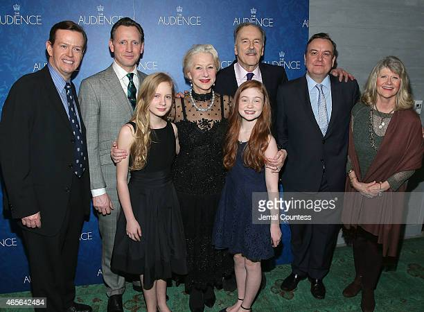 Actors Dylan Baker Rufus Wright Elizabeth Teeter Helen Mirren Sadie Sink Michael Elwyn Richard McCabe and Judith Ivey attend the opening night after...