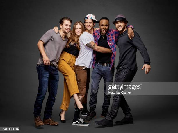 Actors Dylan Sprayberry Holland Roden Tyler Posey Khylin Rhambo and Cody Christian from 'Teen Wolf' are photographed for Entertainment Weekly...