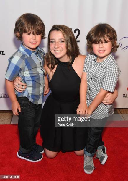 """Actors Dylan Walters and Wyatt Walters attend """"Diary Of A Wimpy Kid: The Long Haul"""" Atlanta screening hosted by Dwight Howard at Regal Atlantic..."""