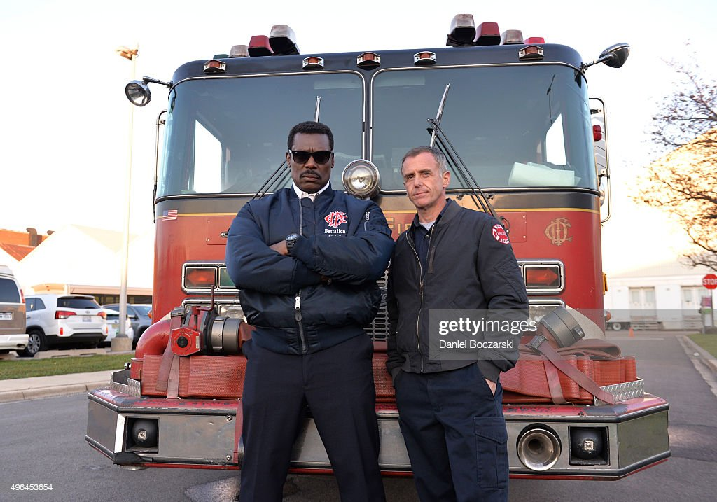 NBC's 'Chicago Fire', 'Chicago P.D.' And 'Chicago Med' - Press Junket : News Photo